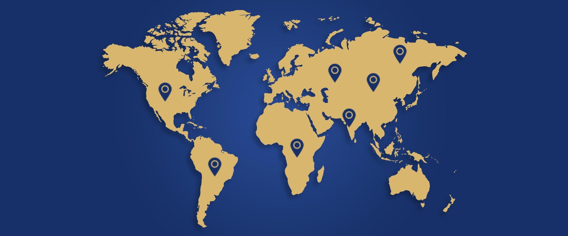 Woven International Global Presence