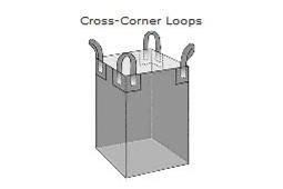 Cross-Corner Loop Jumbo Bag